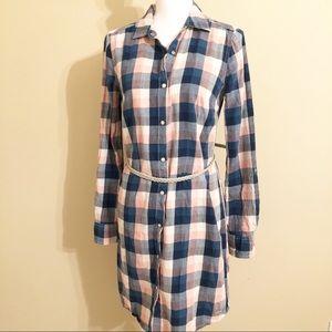 Tommy Hilfiger Plaid Shirt Dress